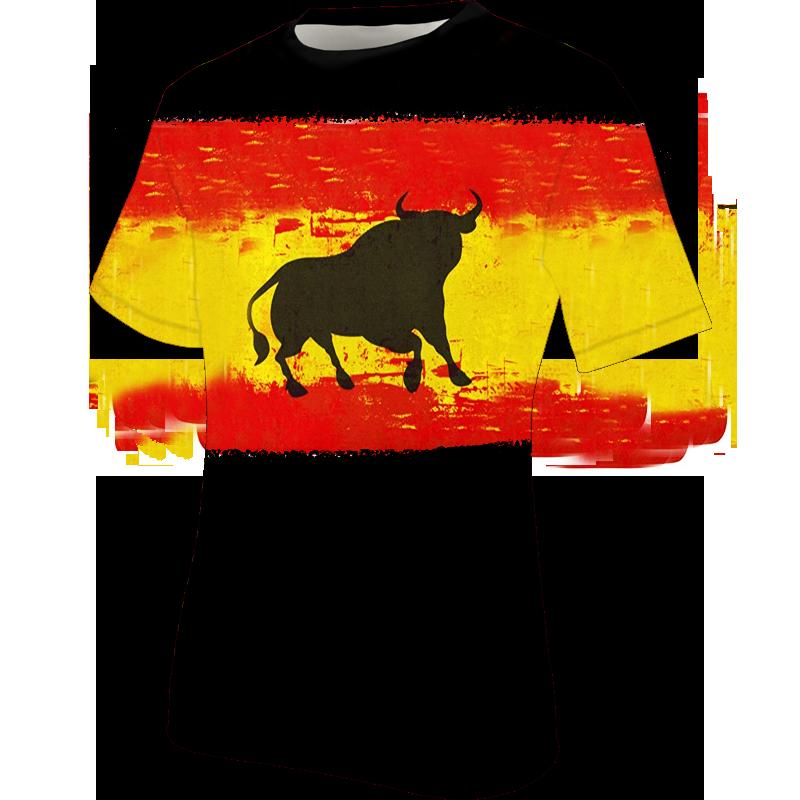 camiseta-españa-toro